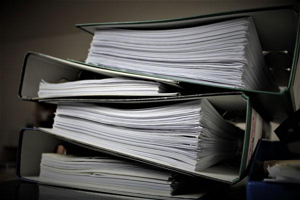 chiusura di bilancio registri